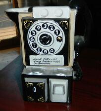 Vintage HERITAGE MINT LTD Pay Phone Telephone PITCHER