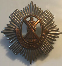WWII The Royal Scots Scottish Cap Hat Badge