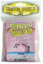 Card Sleeves Dragon Shield 50ct Box Deck Protector Classic Pink Standard Size