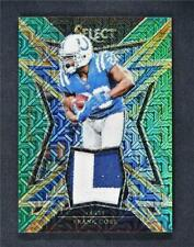 2017 Select Sparks Prizm Relics Green #28 Frank Gore 4/5