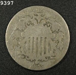 1875 Shield Nickel *Free S/H After 1st Item*