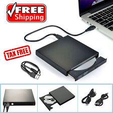 External Portable DVD Combo Player CD-RW Burner Drive USB 2 for Win 7 8 10 Mac B