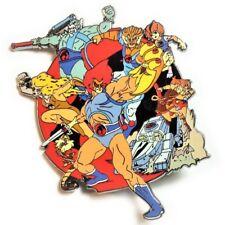 ThunderCats Cheetara Lion-o Panthro 80's Cartoon Hat Jacket Tie Tack Lapel Pin