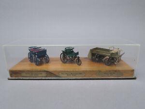 Daimler Camion 1896 Automobile 1886 Benz Patent-Motorwage Sur Bois Box