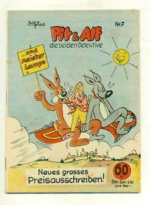Pit und Alf Nr7, ( 1 - 2 ) - Original Lehningvon 1957Pit & Alf