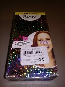 Biore Deep Cleansing Mystery Pore Strip 10 ct Open Box
