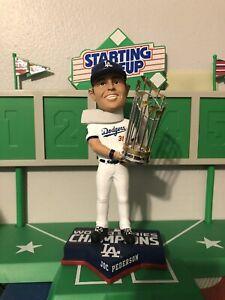 Joc Pederson Los Angeles Dodgers World Series Champion Bobblehead