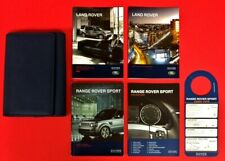 New Listing2010 2011 2012 Land Rover Range Rover Sport Owners Manual Set Owner's Manual Rrs