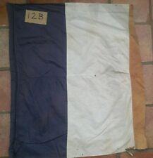 Vintage French Tricolore Tricolour Flag Sewn Panels