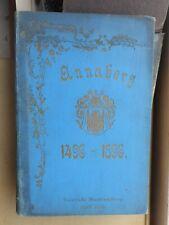 Max Grohmann: Festschrift zur 400jährig. Jubelfeier der Stadt Annaberg 1496-1896