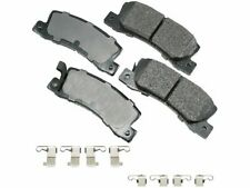 For 1990-1992 Geo Prizm Brake Pad Set Rear Akebono 78937RN 1991
