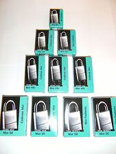 24pc. IFAM 30mm KEYED ALIKE MARINE PADLOCKS. SALT SPRAY TESTED. ONE KEY FITS ALL