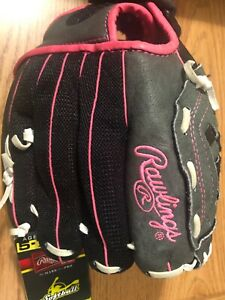 Rawlings Storm Youth Girls (Age 5-7) Softball Glove Right Hand New