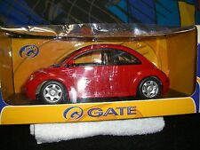 1/18 Gate 1998 V.W. Beetle in bright red.