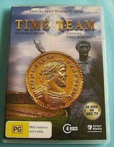 TIME TEAM Digs Roman Britain DVD Tony Robinson Region 4