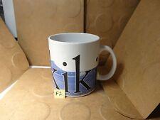 Starbucks Waikiki City Mug, Rare Inverted Bottom Label (Used/EUC)