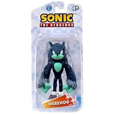 Sonic The Hedgehog Werehog 3.5 Inch Plastic Action Figure Toy Warehog