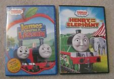 Set of 2 Thomas the Train and Friends Children's DVD