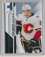 2018-19 Upper Deck Premier Rookie 87 Juuso Valimaki /299 Calgary Flames