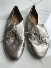 Gold/Silver Clark's Shoes Size 6