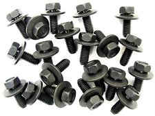 Toyota Body Bolts- M6-1.0mm x 16mm Long- 10mm Hex- 17mm Washer- 20 bolts- #180