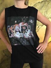 BNWT KARL LAGERFELD Women's Top Size L RRP £125