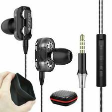 Super Bass In-Ear Doppeltreiber Kopfhörer X12 Ohrhörer Earphone Headset