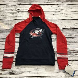 Columbus Blue Jackets Hoodie Sweatshirt Youth Girls Large 14 NHL Hockey