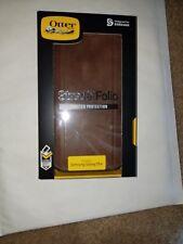 Genuine Otter Box Strada Folio Series case For Samsung galaxy S9 + 77-58079