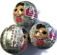 LOL SURPRISE Doll BLING SERIES GLAM GLITTER Sister Ornament Authentic - 3 PACK!