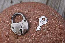 VINTAGE IN MINIATURA Lucchetto con una sola chiavetta, funzionante, hobby, da collezione