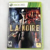 L.A. Noire (Microsoft Xbox 360, 2011) FREE SHIPPING