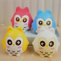 Cute Mini Blue Owl Piggy Bank Plastic Openable Money Box Kids Children Gift