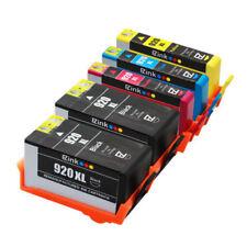 HP 920XL 2B/1C/1M/1Y Ink W/New Chip Officejet 6000 6500 6500a 7000 7500a