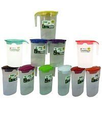 Plastic 1.75 Litre Multi Purpose Picnic Water Jug Juice Milkjug Pitcher with Lid