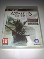 Assassins Creed III 3 Sony Playstation 3 PS3 PAL *Used*