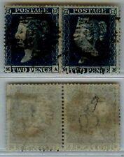 GRAN BRETAGNA - 1854/1855 - Coppia 2p (9) D.16 - EFFIGE REGINA VITTORIA - U