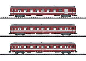 """Trix Minitrix 15950 Schnellzugwagen-Set """"Le Capitole"""" SNCF 3-teilig #NEU in OVP"""
