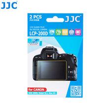 JJC 2PCS LCD Guard Film Screen Protector fr Canon EOS RP 200D Rebel SL3 Kiss X10