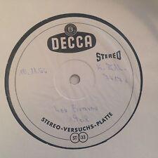 LP LOS BRAVOS *DECCA STEREO-VERSUCHS-PLATTE/TESTPRESS Germany 1966