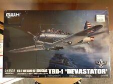 KHS - 1/48 G.W.H. MODEL KIT #L4809 TBD-1 DEVASTATOR VT-6 AT WAKE ISLAND 1942