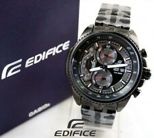 Imported Casio Edifice 558 bk Chronograph Black Dial Men's Watch