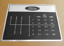 Shift Pattern Decal For Ford Decals 2000 3000