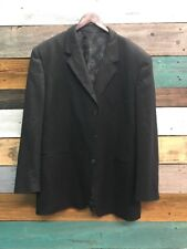 Phat Farm Blazer Jacket Suit Coat Men Size Medium Black
