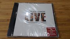Motley Crue - Live - Entertainment or Death - 2 CDs - Sealed