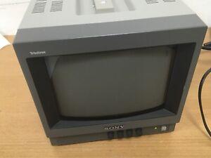 SONY Trinitron PVM-9020 ME Colour Studio Monitor 8 Inch Screen Retro Gaming GWO