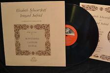 Schwarzhopf - Seefried- Duets by Monteverdi, Carissimi, and Dvorak - EX-NM/EX