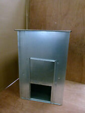 COAL BUNKER - SMALL GALVANISED METAL STEEL & RODENT PROOF