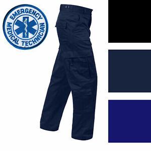 SALE!! Mens EMS EMT Pants Medic 9Pkt Uniform Black Navy ROTHCO 7801 7821 7823