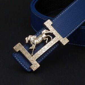 New Men Belt Luxury Brand Buckle Quality Belts Leather High 2021 Women Genuine